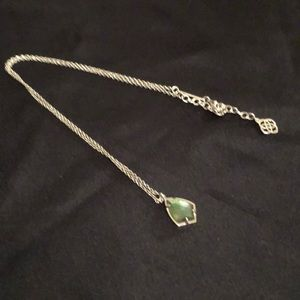 Kendra Scott Necklace - green